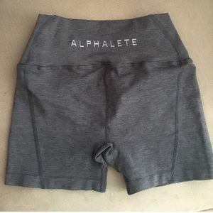 Pants - NWOT Alphalete Revival Shorts Grey